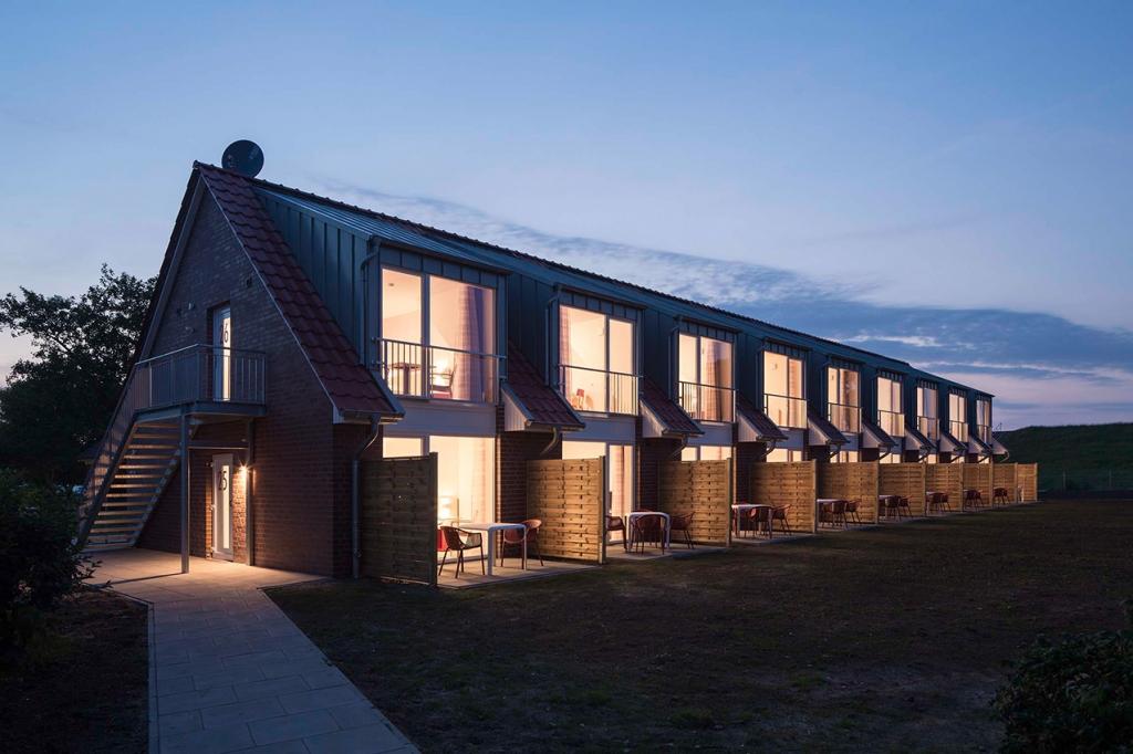 Appartementhaus in Schillig, Ferienwohnungen, Neubau