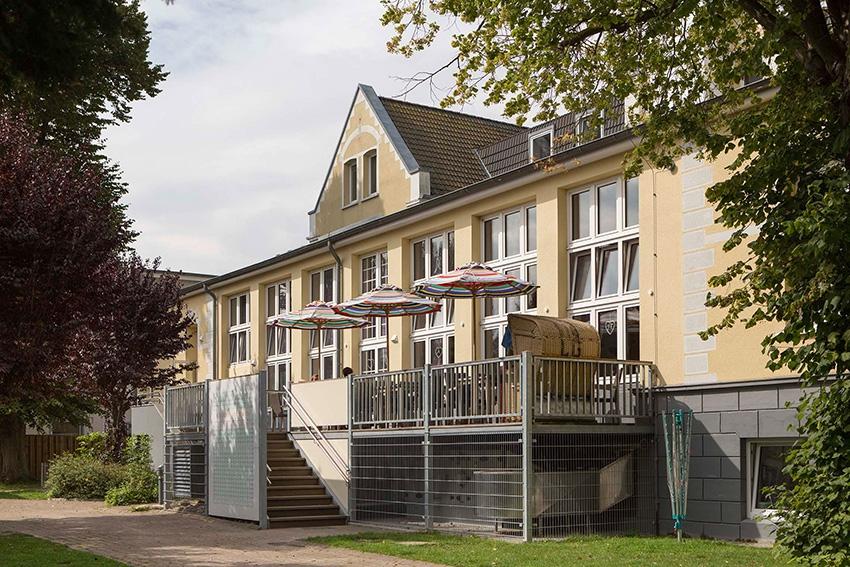 Gertrud-Völcker-Haus, Bauen im Bestand