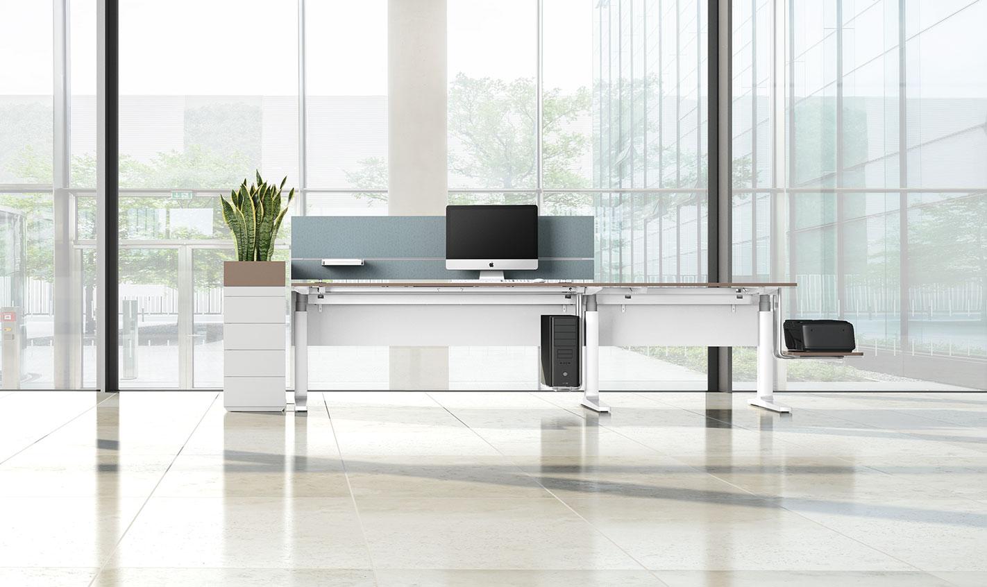 """Höhenverstellbares Schreibtischprogramm """"CHANGE"""" für Vario, Möbel"""