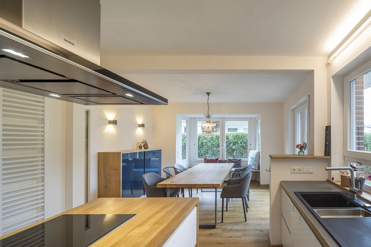 umbau und modernisierung einer doppelhaush lfte. Black Bedroom Furniture Sets. Home Design Ideas